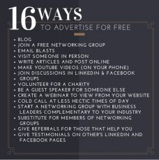 16 ways to advertise for free