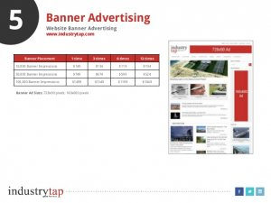 5 Banner Advertising Website