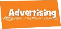 Advertising word cloud, vector