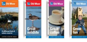 RSPB Old Moor leaflet and