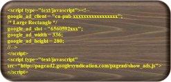 AdSense Ad Code