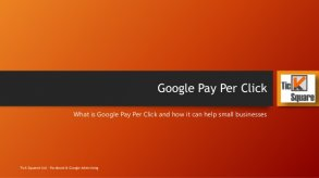 Google Pay Per Click What is