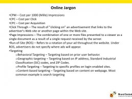 Online Jargon CPM