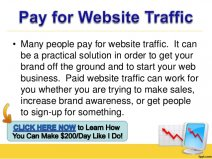 Many people pay for website