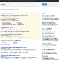 Examples of ads created on a