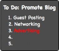 Blog-Promotion - Advertising