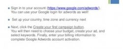 How to sign up for Google AdWords?