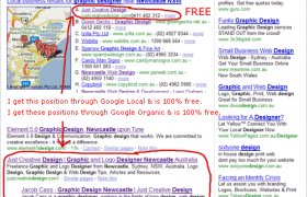 Advertise website for free on Google