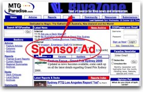 Advertising on websites cost