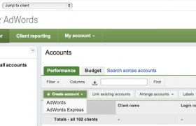 AdWords account Management