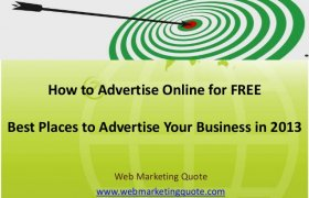 Best Places to Advertise online for free