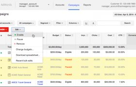 Google AdWords Manager