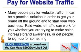 Pay For website Traffic