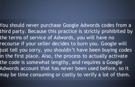 Purchase Google AdWords