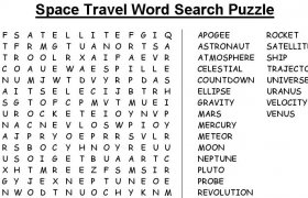 Space Word Search
