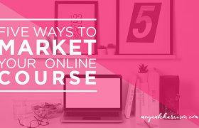 Ways to Market online