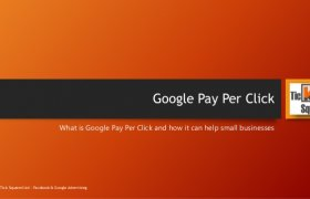 What is Google Pay per Click?