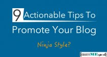 Tips to promote blog