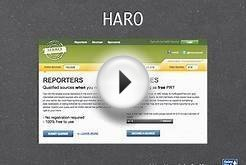 30 Best Ways to Promote Your Website or Blog - #9 Haro or