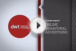 A Word About Online Behavioral Advertising