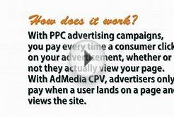 AdMedia CPV Advertising - Cost Per View - CPV ads