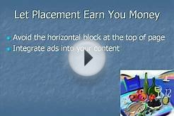 AdSense Marketing Secrets - AdSense Ads Placement