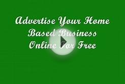 Advertise Your Home Based Business Online For Free