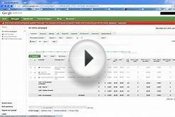AdWords Campaign & Ad Group Management - Create A Campaign