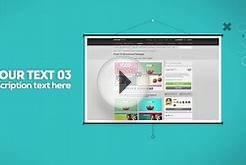 "after effects templates ""E-commerce-blog-website-Promotion"