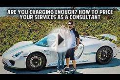 Are You Charging Enough? How to Price Your Services as a