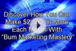 Article Promotion Using Bum Marketing Mastery