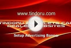 Automotive Dealer Website Setup Advertising Banner