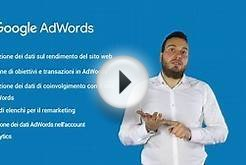 Collegamento degli account Google AdWords e Analytics