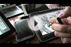 Crabfu Review, Digital Art Tools (Pressure Sensitive