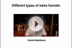 Different types of sales funnels - Online marketing