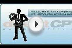 DirectCPV Cost Per View (CPV) Advertising Network
