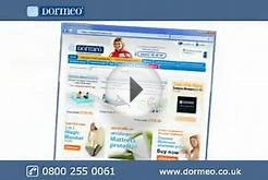 Dormeo UK Web advert