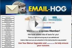 Email Hog Is The Best Free Advertising Site Online