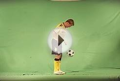 FIFA12 Promotional site - making of