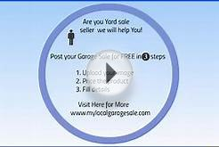 Find and Advertise Garage Sale for FREE!
