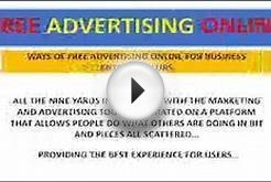 free online advertising for business entrepreneurs