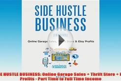 Free PDF Download SIDE HUSTLE BUSINESS Online Garage Sales