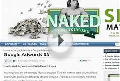 Google Adwords Tutorial : Adding Keywords