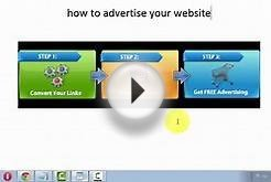 How To Advertise Your Website For Free
