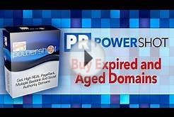 How To Buy Expired Domains with PRPowershot