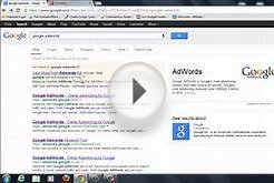 How To Do Google Adwords PPC advertising