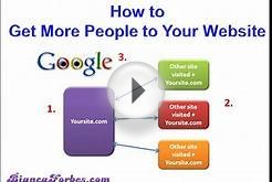 How to get more people to your website