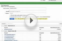 How to get more Youtube Views - Google Adwords Tool
