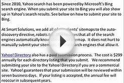 How to Submit Website to Search Engines, famous Search