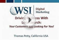 Local Search Engine Marketing and Internet Advertising Webinar